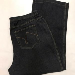 Just My Size 2X Boot Cut Jeans